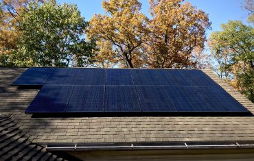 a house with solar panels in martinsburg wv